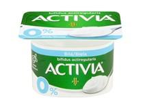 Danone Activia Bílá jogurt 0% chlaz. 8x120g