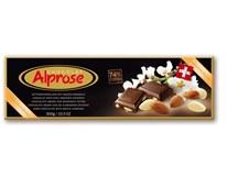 Alprose Hořká čokoláda s mandlemi 74% 1x300g