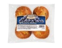 Muffiny borůvkové 4x75g