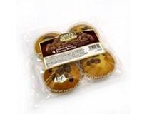 Muffiny s čoko kousky 4x75g