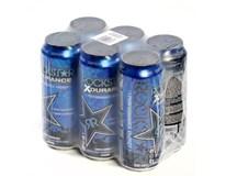 Rockstar XDurance blueberry 6x500ml plech