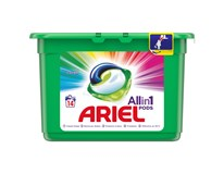 Ariel All in 1 Color Gelové kapsle na praní 6x14ks