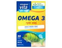 Maxi Vita Omega3 Rybí olej 1x30 kapslí