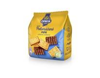 Opavia Zlaté polomáčené sušenky mini mléčné 12x145g