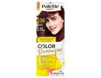 Schwarz. Palette Color Shampoo kaštan 236 1x1ks