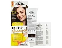 Schwarz. Palette Color Shampoo středně hnědý 221 1x1ks