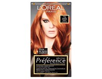 L'Oréal Préférence č.74 barva na vlasy měděná 1x1ks