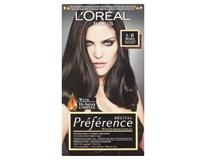 L'Oréal Préférence č.3/B barva na vlasy tmavě hnědá 1x1ks