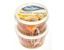 Nakládaný camembert s česnekem (pevný podíl 2x120g) chlaz. 2x200g