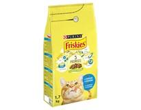 Purina Friskies losos+zelenina granule pro kočky 1x1,7kg