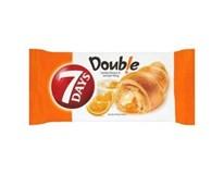 7Days Croissant double vanilka+pomeranč 20x60g