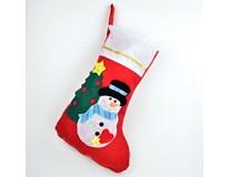 Bota vánoční s aplikací 1ks