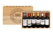 Collection Bordeaux Chateaux 6x375ml dřev.box