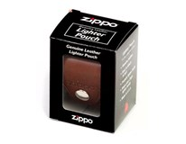 Pouzdro kožené Zippo hnědé 1ks