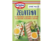 Dr. Oetker Želatina na vaječnou tlačenku a aspiky 20x20g