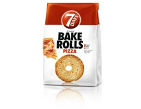 7Days Bake Rolls Křupavé chipsy Pizza 14x80g
