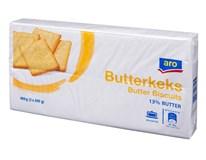 ARO Máslové sušenky 13% (2x200g) 1x400g