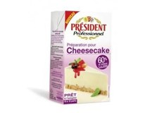 President Professionnel Cheesecake chlaz. 1x1L UHT