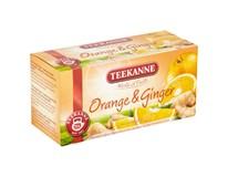 Teekanne Fruits Čaj Orange&Ginger 3x45g