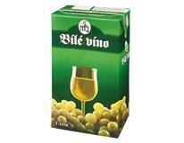 Víno bílé 12x1L tetrapack