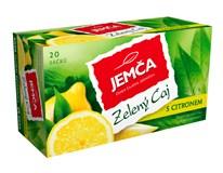 Jemča Zelený čaj s citronem 6x30g