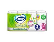 Zewa DeLuxe Cashmere Camomile Toaletní papír 3-vrstvý 150út. 1x16ks