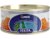 Lemberg Kaviár z divokého lososa Gorbuša (Gorbusha) chlaz. 1x250g