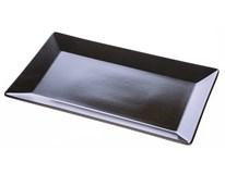 Talíř 25x14,5cm Tokyo keramika černý 1ks