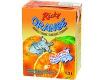 Ricky pomeranč 20% nápoj 10x200ml