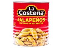 La Costeňa Jalapeňos celé 1x2,8kg