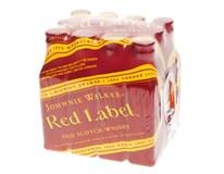 Johnnie Walker Red Label whisky 40% 16x12x50ml