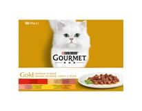 Purina Gourmet Gold konzerva pro kočky 12x85g