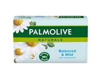 Palmolive Naturals Balanced&Mild Chamomile Tuhé mýdlo 6x90g