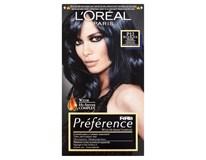 L'Oréal Préférence č.P12 barva na vlasy blue-black 1x1ks