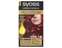 Syoss Oleo Barva na vlasy 5-92 zářivě červený 1x1ks