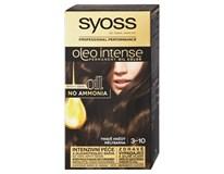 Syoss Oleo Barva na vlasy 3-10 tmavě hnědý 1x1ks