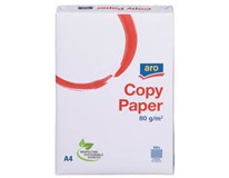 Papír kancelářský ARO Copy Paper A4 80g/m2 500 listů 5ks
