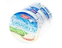 Tany Šumavský tavený sýr light chlaz. 5x140g