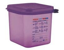 Nádoba na potraviny vyvolávající alergie Araven GN1/2 150mm 10L 1ks