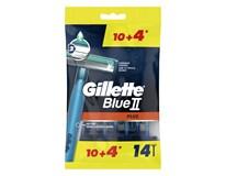 Gillette Blue II. holítka pohotovostní 1x(10+4)ks
