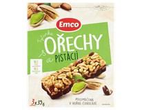 Emco Tyčinka ořechy/pistácie 3x35g