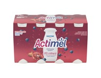 Danone Actimel Jogurtový nápoj granátové jablko/borůvka chlaz. 3x(8x100g)