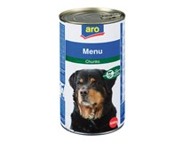 ARO Hovězí a zeleninové kousky pro psy 6x1240g