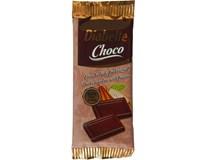 Wissa Diabette Hořká čokoláda 60% s fruktózou 10x13g