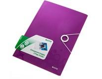 Desky na spisy Leitz Wow PP purpurové 1ks