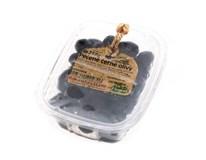 Olivy černé pečené (pevný podíl 242g) chlaz. 1x250g
