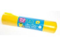 Pytle na tříděný odpad plast žluté 120L 1x25ks