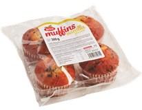 Muffiny Vanilka s čoko kousky 4x75g
