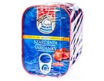 Eva Sardinky v rajčatové omáčce 5x115g