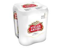 Stella Artois světlý ležák pivo 24x500ml plech